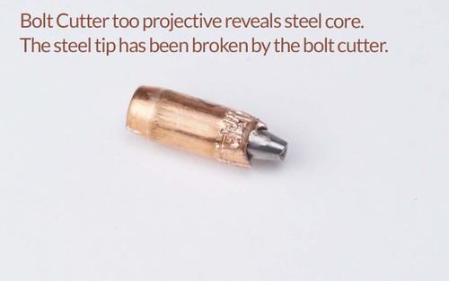 SS190 showing inside steel tip