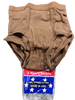 Men's Briefs 100% Cotton Brown Size 34    3 pack