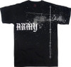 Army Helicopter Black T-Shirt