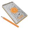 eGear Waterproof Notebook with Pencil
