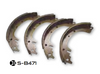 M38/A1 Brake shoes Set of  4 SB471 807376