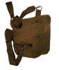 Genuine Military Issue M17 Canvas Gas Mask Bag