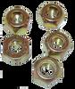 Bud Wheel Lug Nuts (5 nuts)
