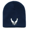 Classic Military Work Beanies Air Force Wing