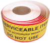 Unserviceable Item Roll of Stickers