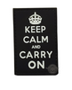 PVC MORALE PATCH - KEEP CALM AND CARRY ON