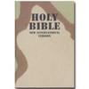 NIV Camouflage Bible - 3 Color Desert