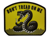 Morale Pvc Patch -Don't Tread on Me