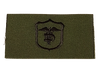 Military Issue OD Medical Shoulder Patches 1 pair 2 each