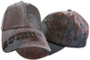 Army Paint Splattered Brown Cap