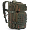 Red Rock Outdoor Gear Rebel Assault Pack Olive Drab Green with Orange Stitching
