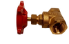 Commercial Gate Valve Threaded 1/2 inch Brass