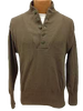 US Army Brown 5 Button Sweater