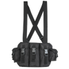 VOODOO TACTICAL 7-POCKET CHEST RIG BLACK