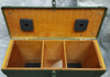 Military Issue Double Wooden Lantern Chest OD