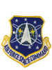 Military Issue Air Force Space Command Patch