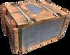 Wooden 50 Cal Ammo Box