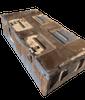 81mm Ammo Box Brown