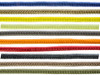 Sona Enterprises 10Pc- 10' Assorted Solid Colors Paracord with Matching Buckles
