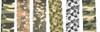 Sona Enterprise 6pc Assorted Camouflage Adhesive Free Wraps
