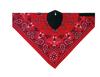 Zan Headgear Neodanna Face Mask Red Paisley