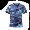 Rothco Blue Sky Camo T-Shirt Size Small