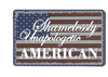 Morale PVC Patch-Unapologetic American