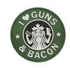 Morale PVC Patch- Guns and Bacon 6713