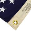 """G-Spec US 100 % Cotton Flag 2' 4 7/16"""" x 4' 6"""" USA MADE"""