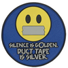 5ive Star Gear PVC MORALE PATCH- SILENCE IS GOLDEN 6699