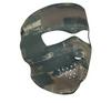 Full Mask Neoprene Dark Brushed Camo