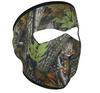 Full Mask Neoprene Forest Camo