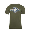 Rothco Vintage Army Air Corps T-Shirt OD