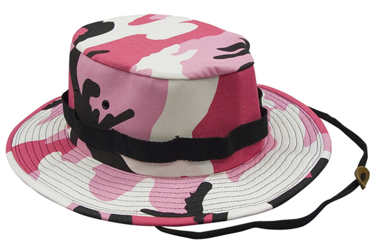 Pink Camo Boonie Hat a3398138559