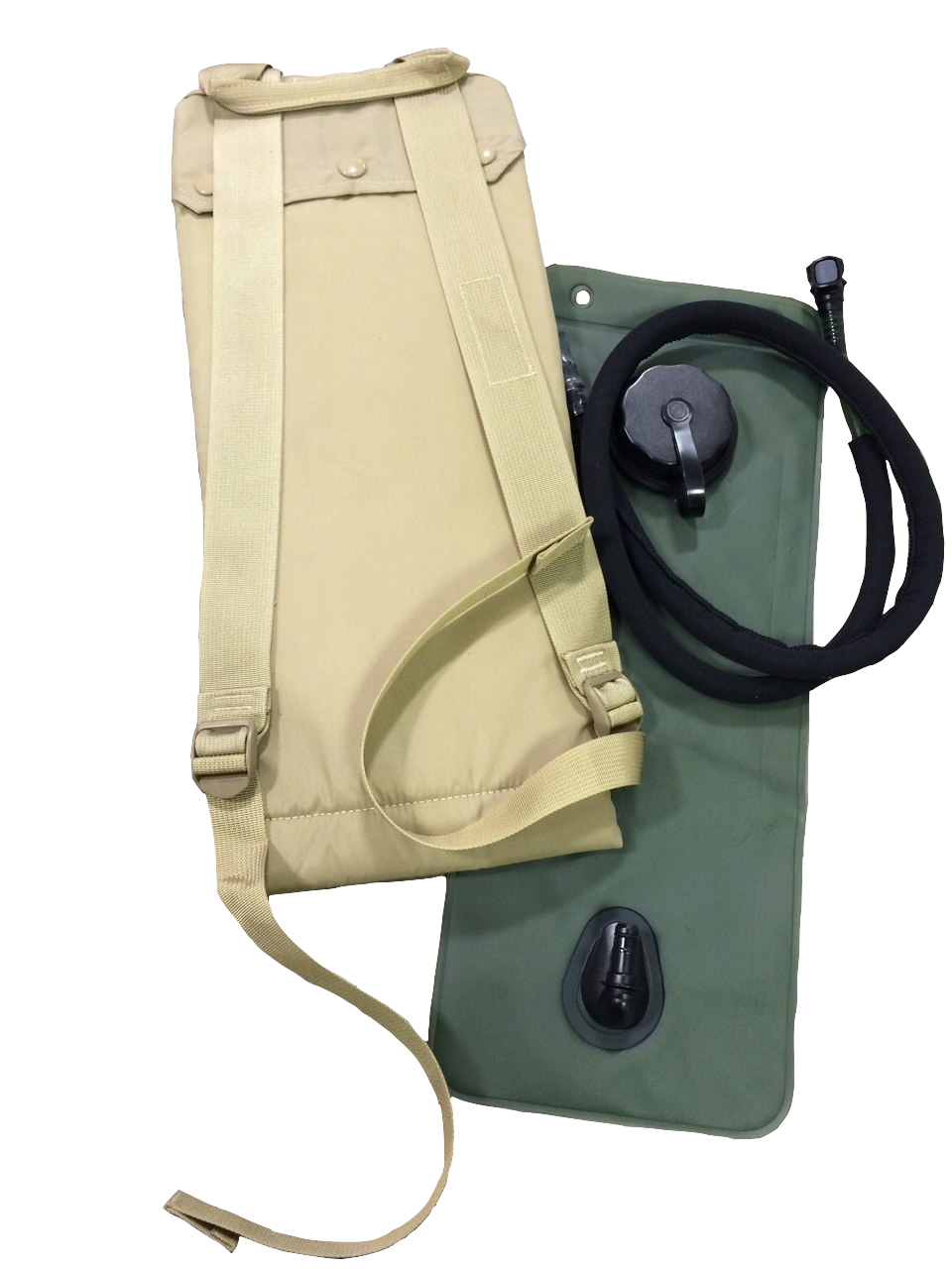 91af471e732 US GI Molle II 3 Liter Coyote Hydration System with Bladder - Army ...