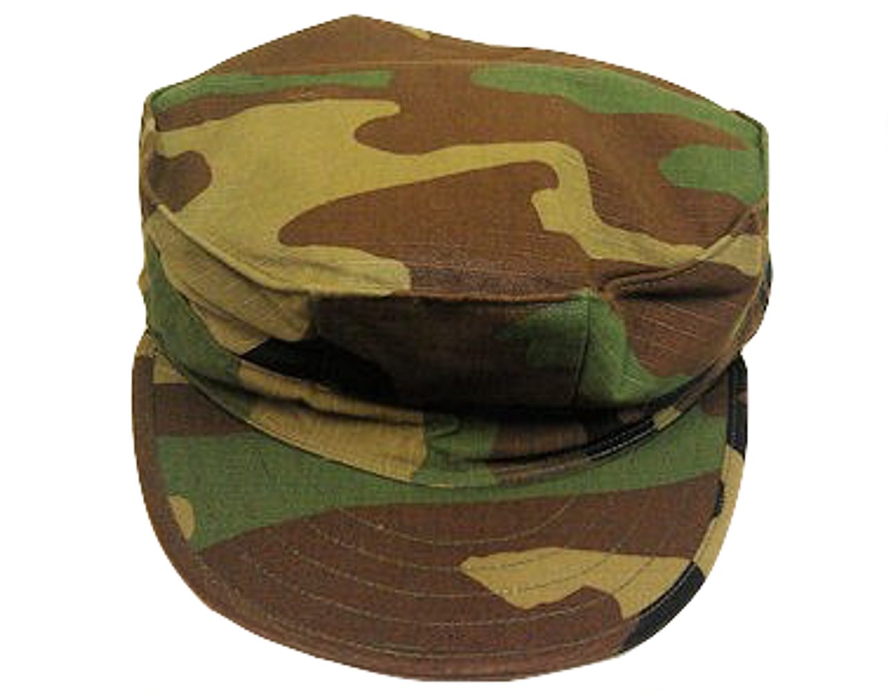 84f880a16 US Govt Issue 8 Point Marine Cap Woodland Camo Size X-Large