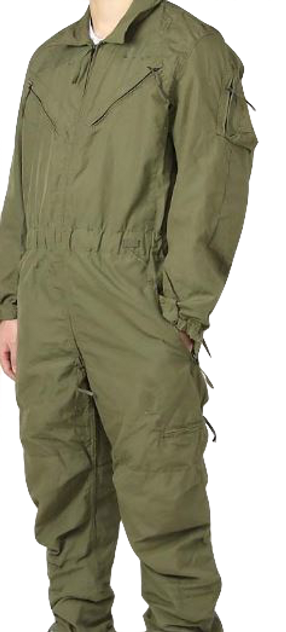 Army Tan CVC Combat Crewmen/'s Coveralls Large-Short LS