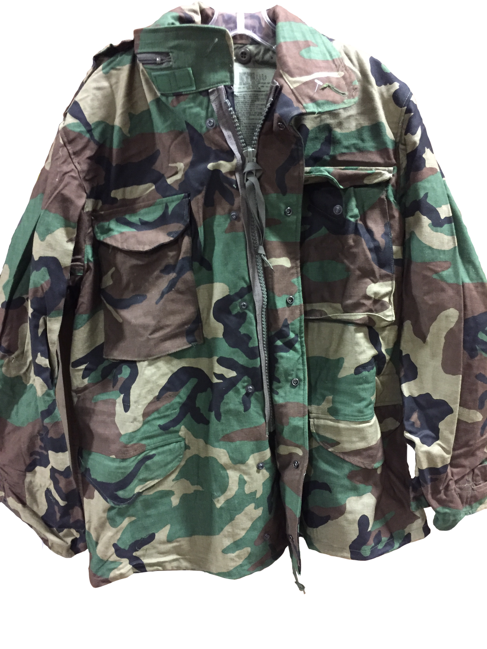 Military Issue M65 Woodland Field Jacket Medium - Army Surplus ... 1198f2d0b01
