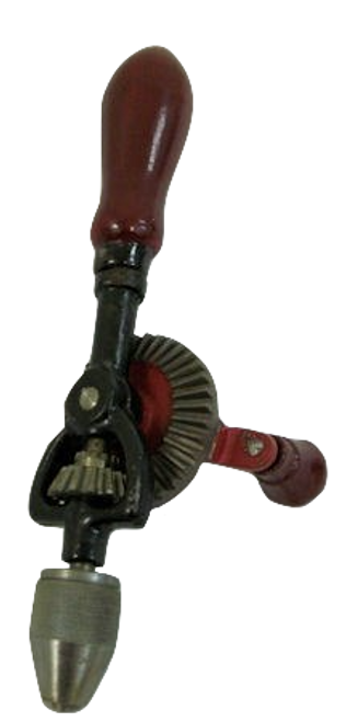 Mini Antique Hand Drill