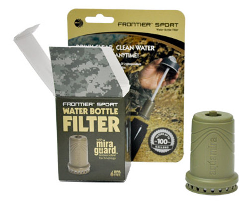 Frontier Sport Water Bottle Filter Military Grade