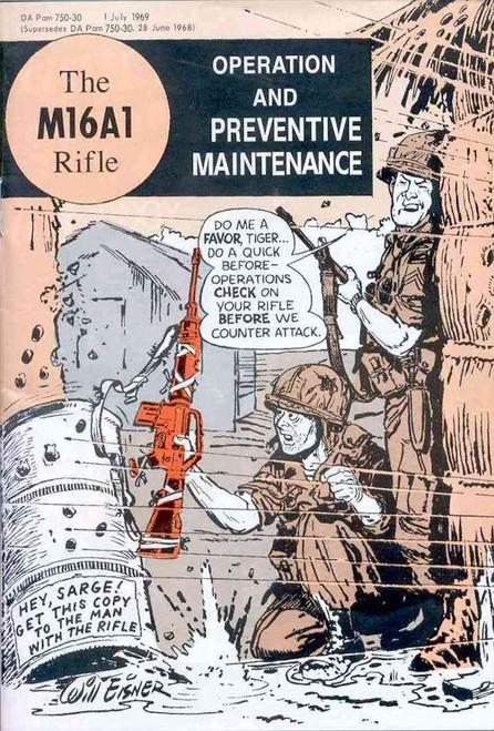 The M16 Comic Book