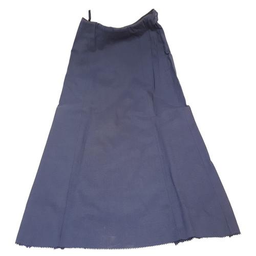 Women's Military Navy Blue Skirt