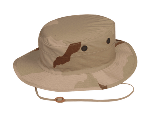 3 Color Desert Boonie Hat