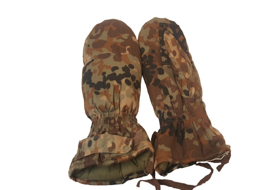 Chinese Military Surplus Shooters' Mittens Camo