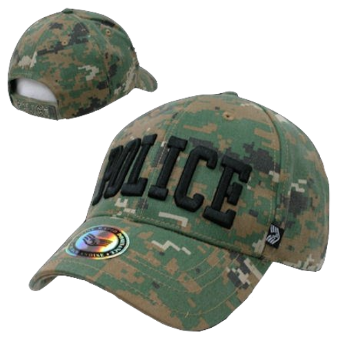 Police Woodland Digital Cap