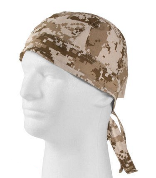 DESERT DIGITAL CAMO HEADWRAP
