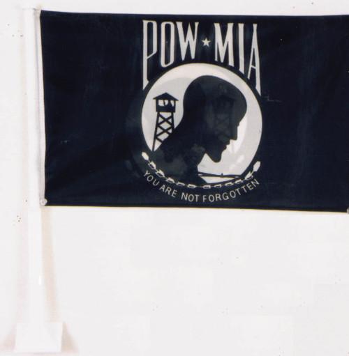 POW MIA CAR FLAG