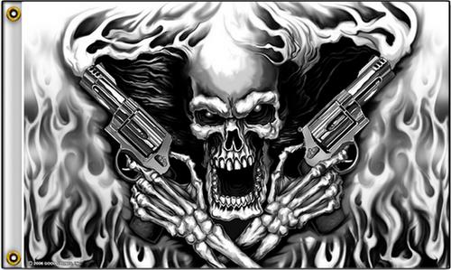 Flag Assassin Skull