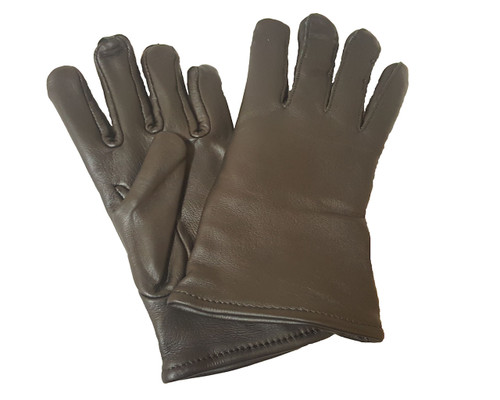Military Issue Black Leather Glove Size 3