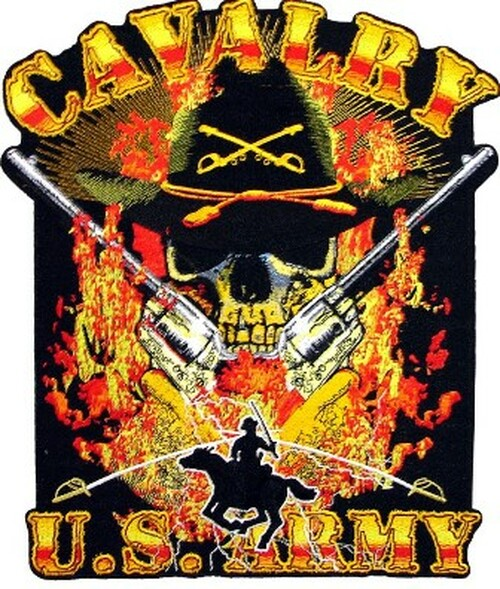 "Calvary US Army Patch 11"""